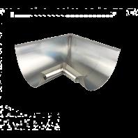 Zinken binnenhoek 90° voor zinken mastgoot