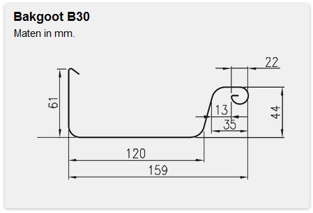 Bakgoot B30